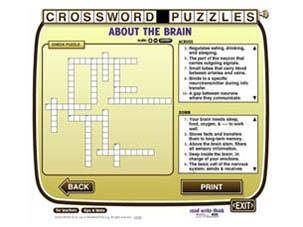 effectiveness of crossword puzzle in learning vocabulary