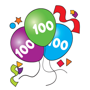 Freedom Train 111013 on Free 100 Days Of School Clipart Happy 100th Day