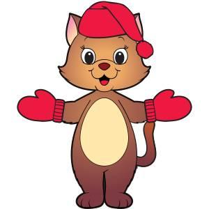wear red cat