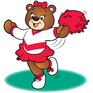 Cheerleader-Bear