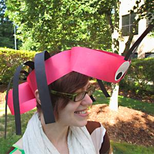 Ant headband-side view!