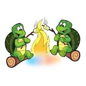 turtles campfire