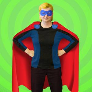 It's a bird...it's a plane...it's Lori, our Humane Resources manager!