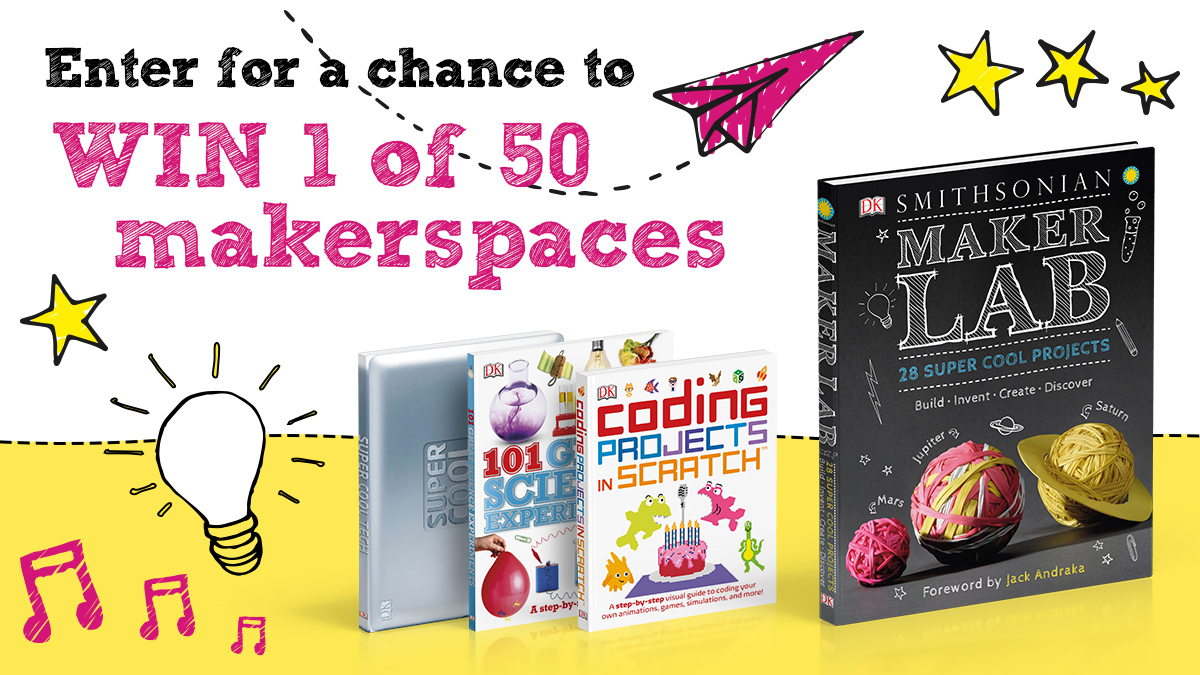 Win a DK Makerspace