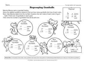 gumballs-workheet
